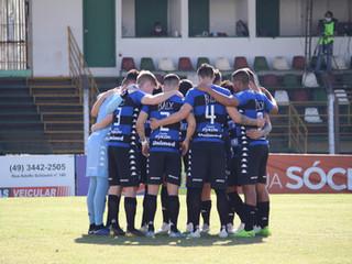 Tubarão é derrotado em Concórdia e se despede do Campeonato Catarinense