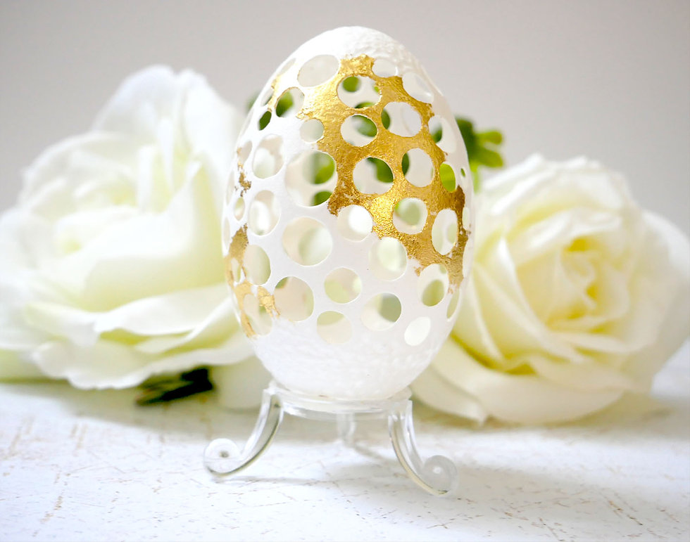Hatchfully-yours-hand-carved-goose-eggshell-white-circles-gold-leaf.jpg