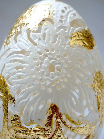 Carved-goose-egg-gold-leaf-closeup.jpg
