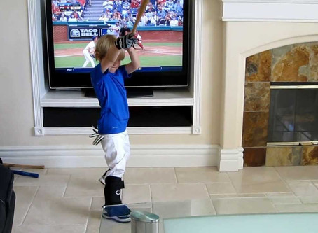 Can a Baseball Player Get Better From Home?
