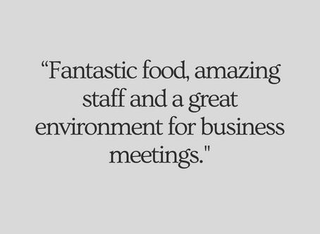 Best Restaurants for a Business Lunch