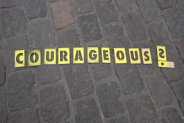 """""""Courage for Democracy!"""" - PoF Collective"""