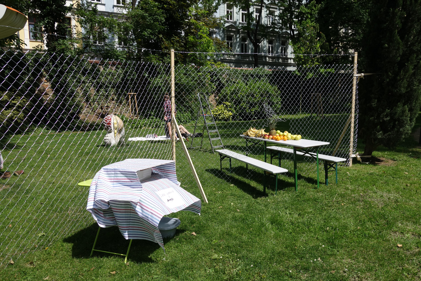 Politics of Fear Picknick @TBA21, Vienna