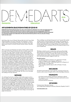 Art_ and_Dementia Education in Times of