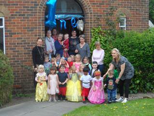 Happy Anniversary Trillium Montessori !