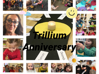 Happy Anniversary Trillium Montessori House!