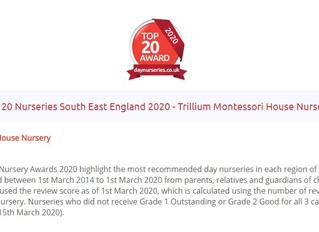 Trillium has won an AWARD!