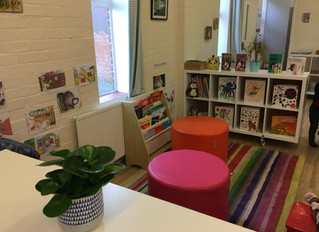Our reading and quiet area