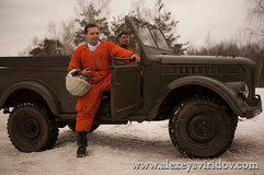 Актер Алексей Свиридов роль Гагарин