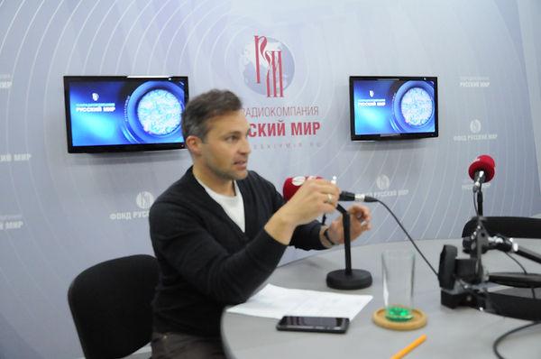 """Алексей Свиридов в фонде """"Русский мир"""""""