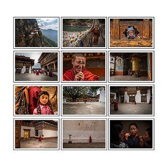 CAIXA DE COLEÇÕES - BHUTAN