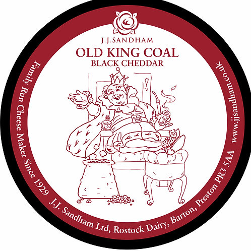 Old King Coal - Charcoal Cheddar