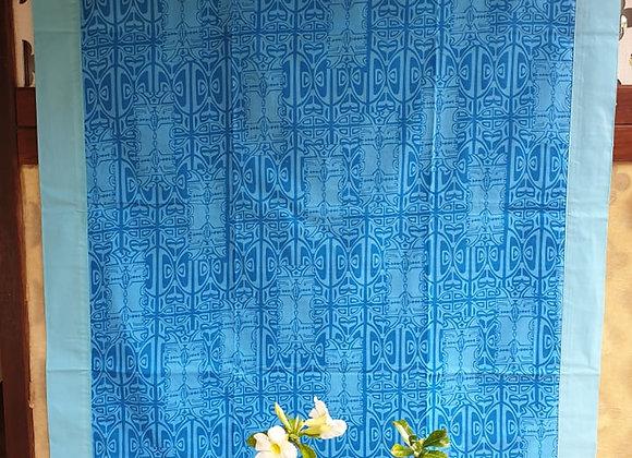 Tifaifai Bébé Aroaro - Tatau Bleu/Bleu Ciel