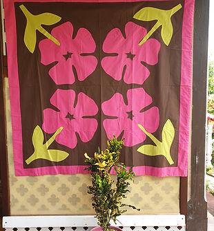Tifaifai Bébé Tradition - Aute (Hibiscus