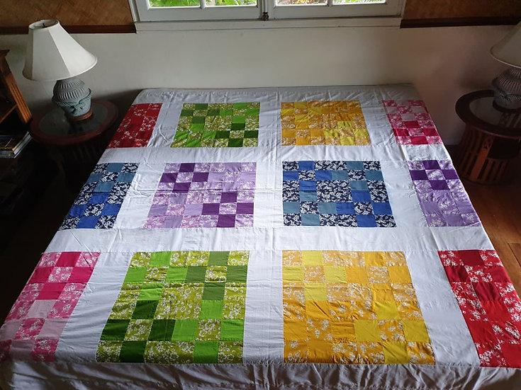 Tifaifai Patchwork - Le multicolore