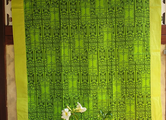 Tifaifai Bébé Aroaro - Tatau Vert/Vert Anis