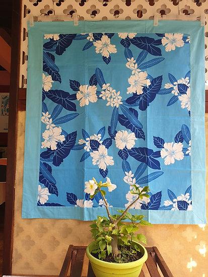 Tifaifai Bébé Aroaro - Fleur Bleu