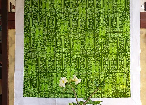Tifaifai Bébé Aroaro - Tatau Vert/Blanc