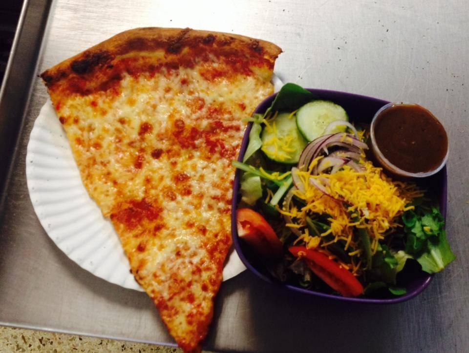 Slice and a Salad!