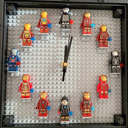 Iron Man: Mini Figure Clock (DIY)