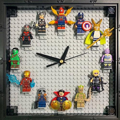 Marvel 1: Mini Figure Clock (DIY)