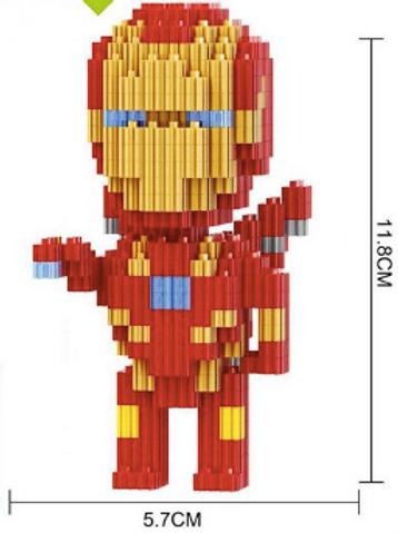 Iron Man (Marvel Series) (Large Mini Block)