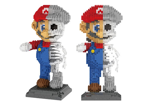 Mario Dissection Skeleton