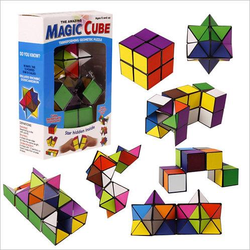 The Magic Cube- Transforming Geometric Puzzle
