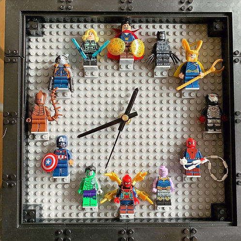Marvel 2: Mini Figure Clock (DIY)
