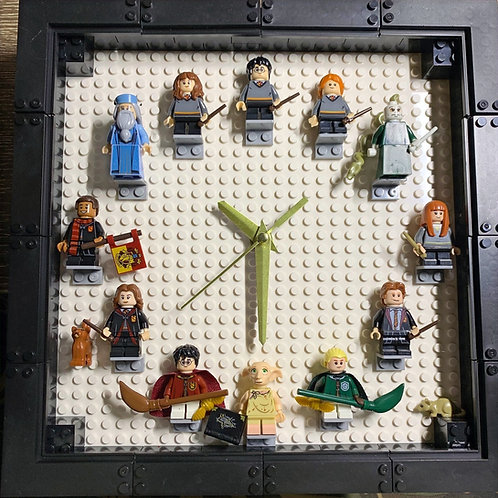 Harry Potter 1: Mini Figure Clock (DIY)