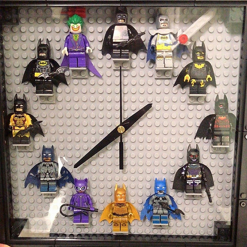 Batman: Mini Figure Clock (DIY)