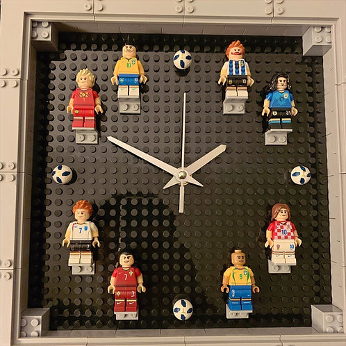 Soccer Theme: Mini Figure Clock (DIY)