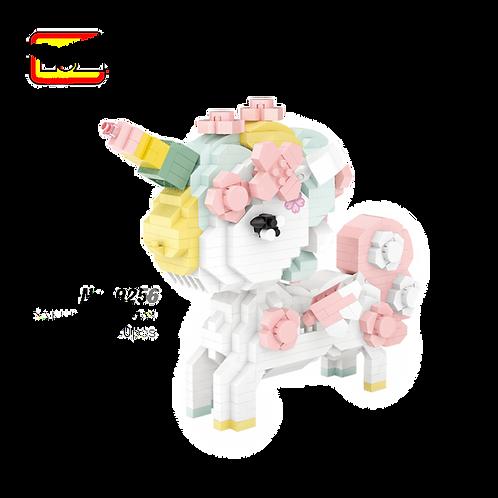 Cherry Blossom Unicorn [Mini Block Series]