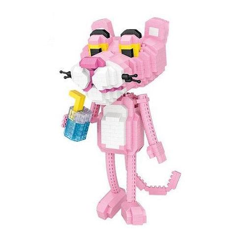 Pink Leopard [Mini Block Series]