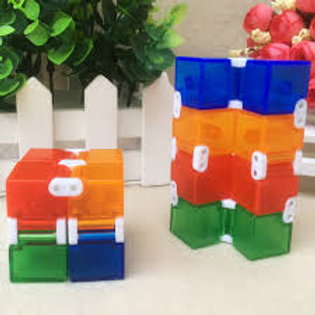 Infinity Cube (Rainbow Plastic)