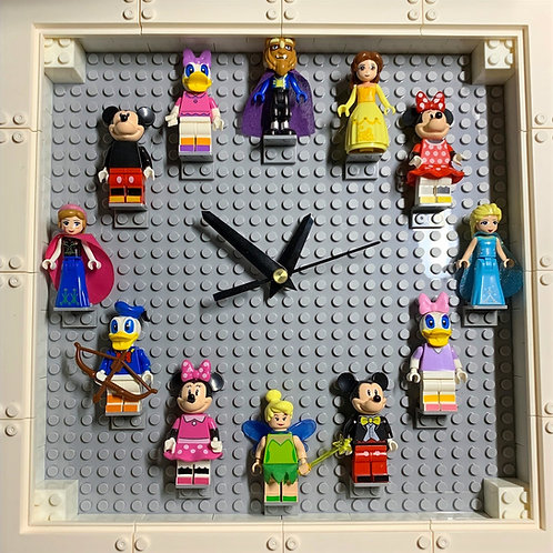 Disney: Mini Figure Clock (DIY)