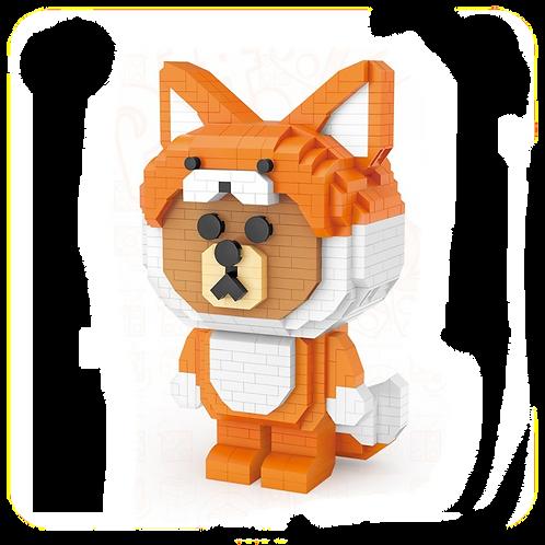 Fox Brown [Mini Block Series]