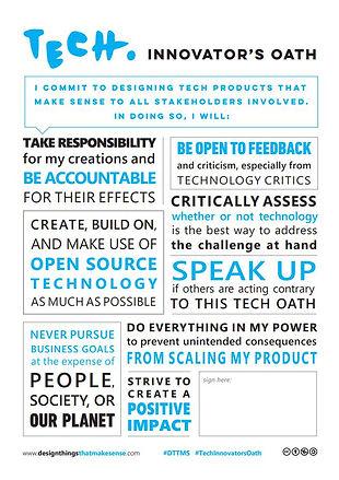 Downloadable Tech. Innovator's Oath