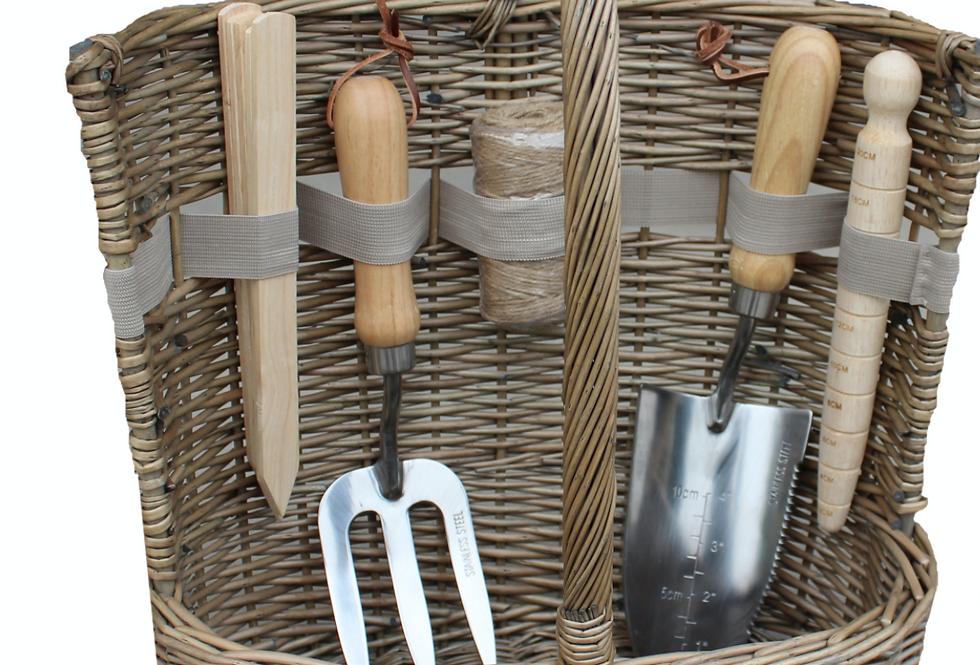 Willow Garden Tool Basket Large