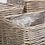 Thumbnail: Set Of Three Square Antique White Wash Planter