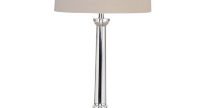 Crystal Column Lamp