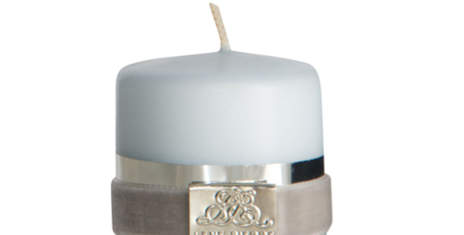 Lene Bjerre Rustic Off White Pillar Candle