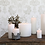 Thumbnail: Rustic White Three Wick Pillar Candle