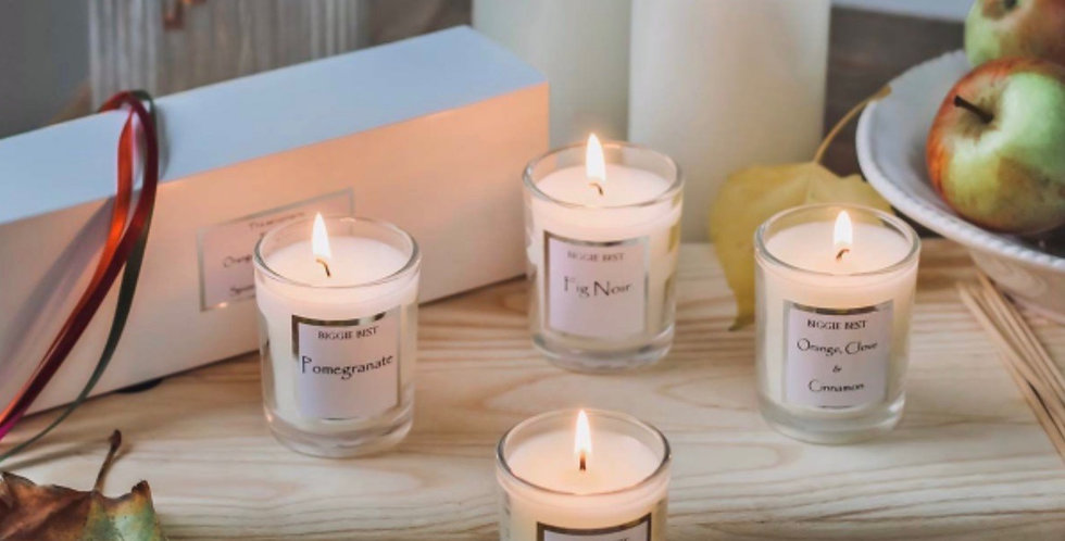 Winter Signature Candle Set