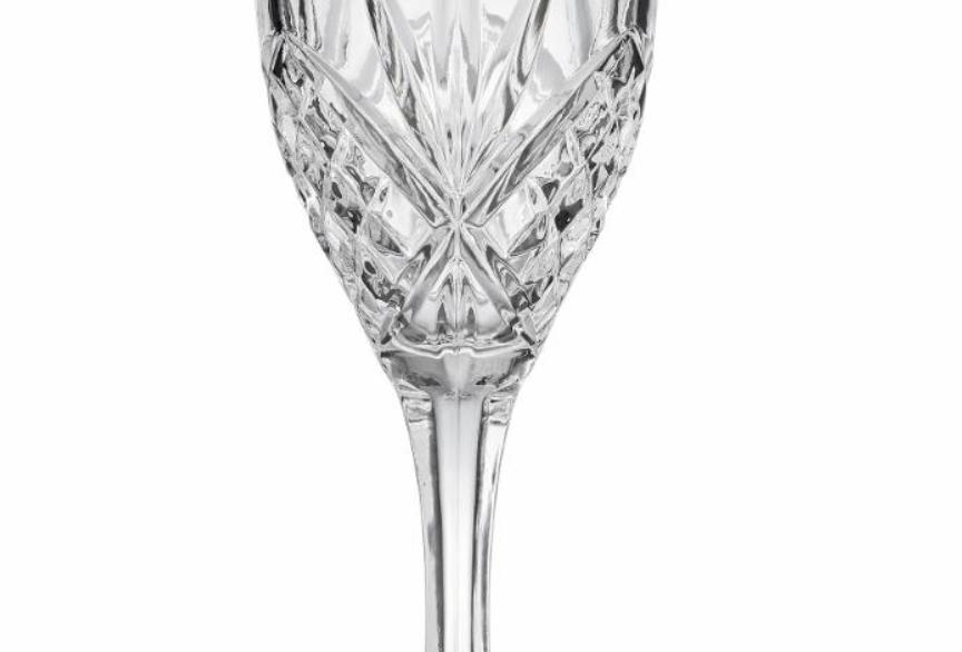 Cut glass Wine Glass