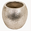 Thumbnail: Birkdale Small Hammered Planter in Silver Finish