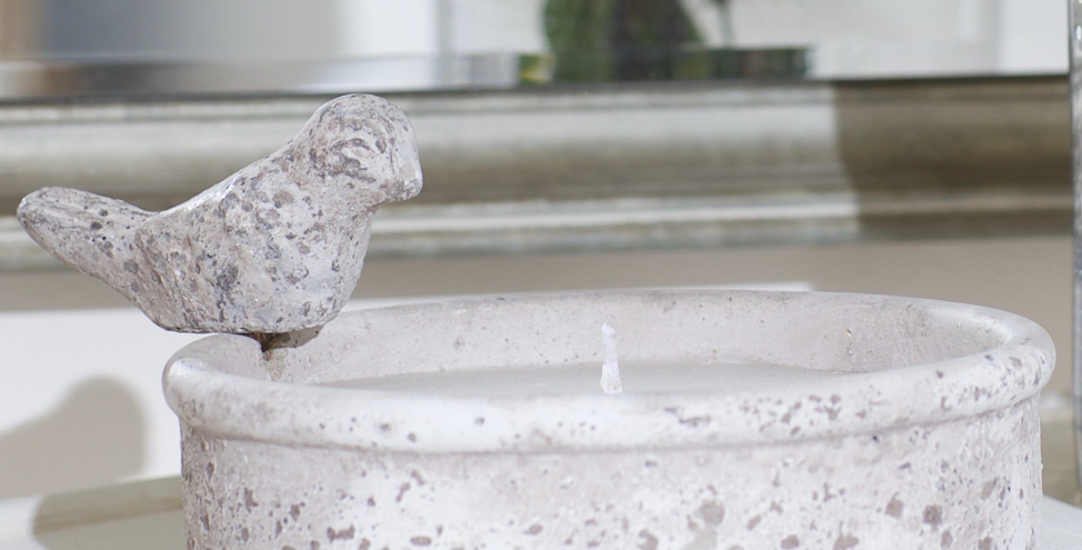 Birkdale Candle Bird Bowl