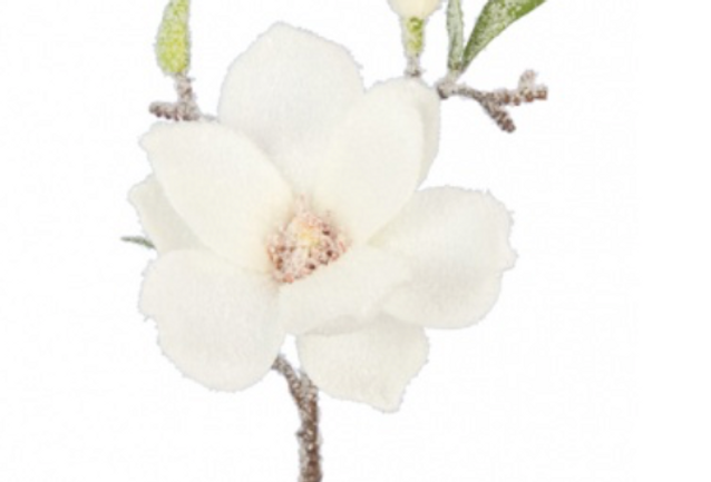 Snowfall Magnolia Pick