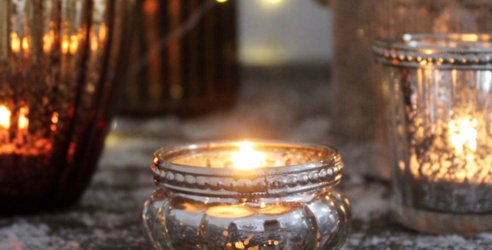 Queen Ann Small Glass Pot