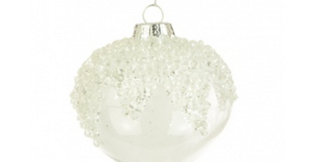 Lucia Glass Bauble